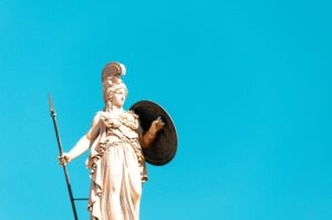 Ionian Cruises Athens Athena Statue