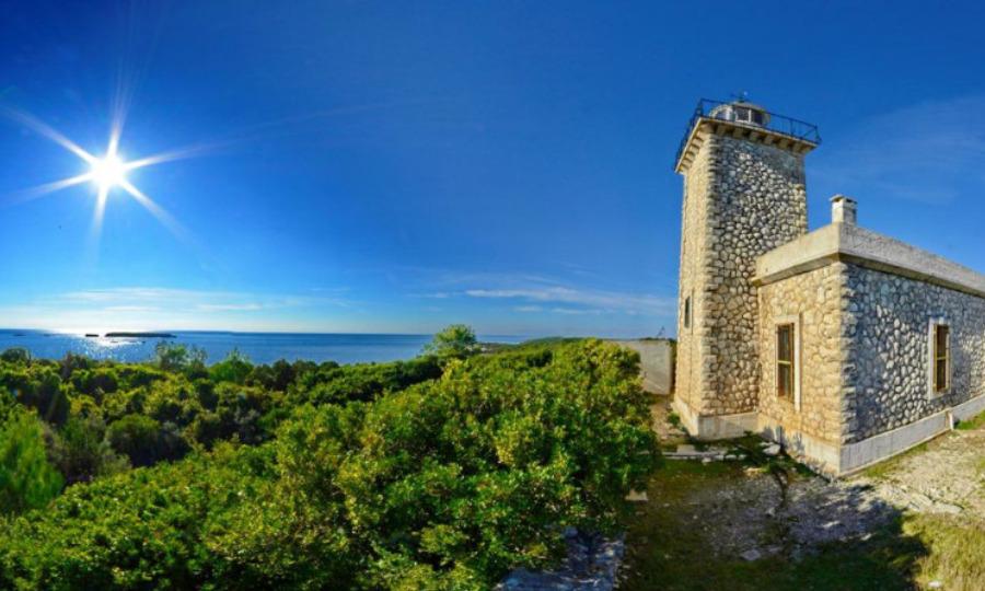 Paxos Lakka Lighthouse
