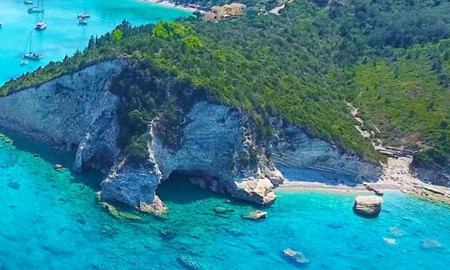 Paxos Lakka Secret Beach